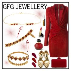 """""""GFG JEWELLERY 3"""" by gaby-mil ❤ liked on Polyvore featuring Jitrois, Dolce&Gabbana, Ellis Faas, Christian Dior, Gucci and gfgjewellery"""