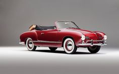 1958 VW Karmann-Ghia Cabrio | Flickr - Photo Sharing!