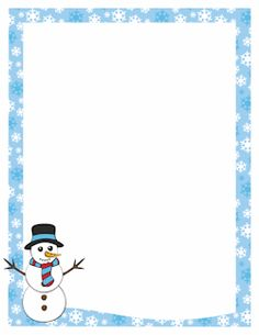 Christmas borders free printable boarders christmas border free snowman border clip art page border and vector graphics publicscrutiny Images