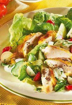 Schnell & lecker! Die besten Blitz-Salate: http://www.bildderfrau.de/rezepte/schnelle-salat-rezepte-d52134.html #salat