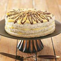 Poppy seed torte