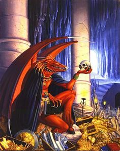Zmeu- Romanian folklore: an anthropomorphic dragon that kidnaps women for the purpose of marrying them. He can spit fire and he has a magical stone on his head that can shine like the sun.