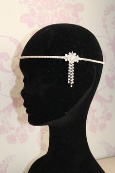 Great Gatsby Headband 1920s Art deco style by Sparklebyelle
