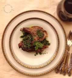 Costolette d'agnello candite alla menta Food Ideas, Beef, Lamb, Meat, Steak