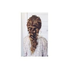 Long Hairstyle Ideas for Wedding Prom via Polyvore featuring hair