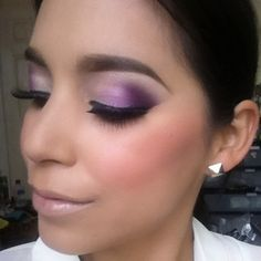 purple smokey eye. Makeup Ideas