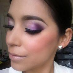 purple smokey eye. Makeup Ideas