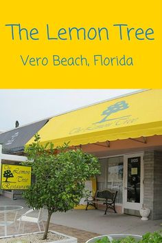 The Lemon Tree is a delicious restaurant on Ocean Blvd in downtown Vero Beach serving locals delicious cuisine. Try the quiche! Vero Beach Disney, Vero Beach Florida, Florida Vacation, Florida Travel, Vacation Places, Florida Beaches, Travel Usa, Florida Trips, Florida 2017
