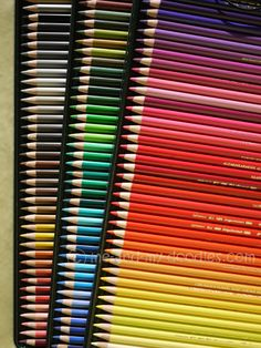 Faber-Castell Polychromos colour pencils. Set of 120
