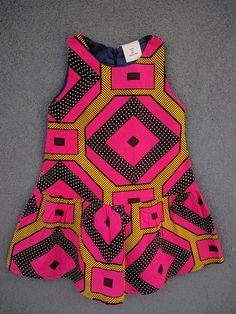 Baby African Clothes, African Dresses For Kids, Latest African Fashion Dresses, Baby Dress Design, Baby Girl Dress Patterns, Girls Dresses Sewing, Dresses Kids Girl, Kids Outfits Girls, Girl Outfits