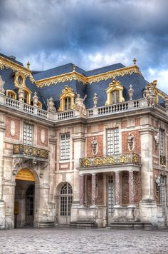The Main Palace at Versailles,Paris.