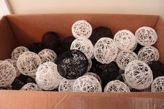 google images black and white christmas decorations | ... One Tree at a Time : wedding decor san francisco Img 37104 IMG_37104
