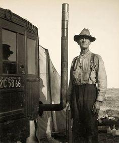 Migrant Labor Camp in California  1935