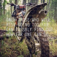 For the sweet love of MOTOCROSS! Our ultimate list of motocross quotes are dirty, funny, serious and always true. Check out our favorite motocross sayings Motocross Quotes, Dirt Bike Quotes, Biker Quotes, Motorcycle Quotes, Motocross Gear, Motocross Bedroom, Dirtbike Memes, Motocross Girls, Girl Motorcycle