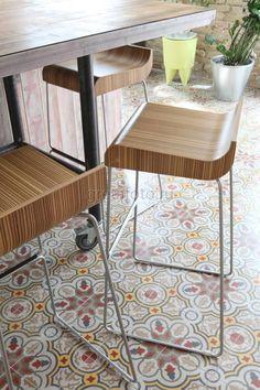 Фотобанк Грета Вульф - Комната | Пол | Цементная плитка | CARODECO | #gretawolf #tiles #плитка