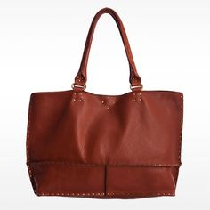 So simple and stunning! - Nico East West Tote in cognac by Linea Pelle