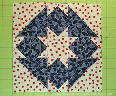 A Goshen Star quilt block is chock full of pointy perfection--but no triangles to cut. No bias to sew. Learn how this beginner friendly block is made.