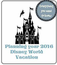 Planning Your 2016 Disney World Vacation