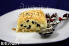 South African Recipes GRANADILLA FRIDGE TART (Priscilla Nel) South African Desserts, South African Dishes, South African Recipes, Tart Recipes, Dessert Recipes, Cooking Recipes, Savory Tart, Sweet Tarts, Kos