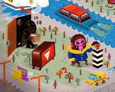 2012 Twenty Things That Happened On The Internet by Seb NIARK1 FERAUT, via Behance