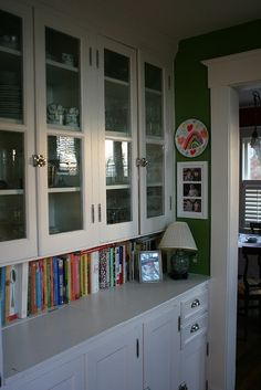 I LOVE THE SPOT FOR THE COOKBOOKS Vintage Junky - Creating Character butlers pantry