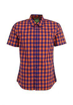 Рубашка Conver мужская. Цвет: оранжевый, синий. Сезон: Весна-лето 2014. С бесплатной доставкой и примеркой на Lamoda. http://j.mp/1nswyQ7
