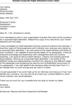 room attendant cover letters