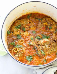 Caribbean King Fish Stew
