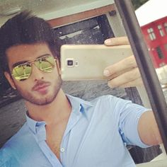 Mirror selfie in Istanbul.