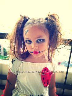 Little Voodoo Doll Costume… Coolest Halloween Costume Contest