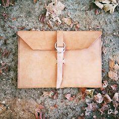 DIY: The Leather Portfolio