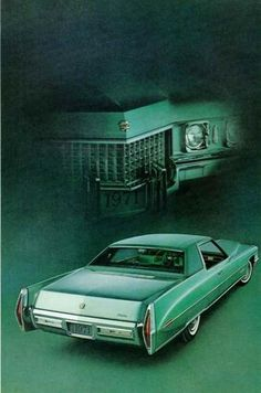 Brand a new cadillac  1970 Cadillac Coupe deVille