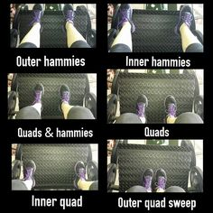 Foot placement on leg press and what muscle it targets.
