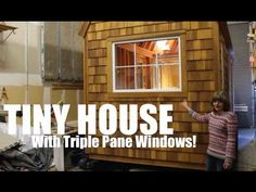 """The Runaway Shanty""- A TINY HOUSE/cabin on wheels tour! - YouTube"