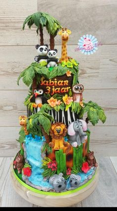 Jungle cake by Sam & Nel's Taarten