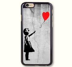Banksy Girl With Balloon Protective Phone Case For iPhone case & Samsung case, 50203