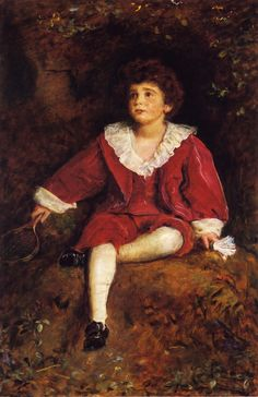 The Honourable John Nevile Manners Sir John Everett Millais - 1896