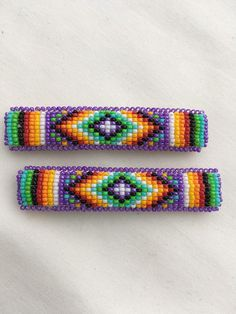 Native american beaded rosettes strips headbands The important