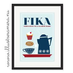 """Fika is both a Swedish verb and noun (pronounced """"fee-ka"""") that roughly means """"to drink coffee/tea/squash,"""" usually accompanied by something sweet."""