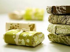 empaques y estampados orgánicos de regalo