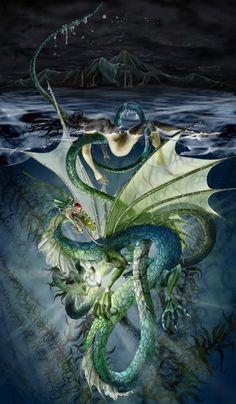 Stephanie Pui Mun-Law Dragons | By Stephanie Pui-Mun Law | Dragons & Sea Monsters