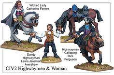 Foundry Miniatures || Highwaymen & Highwaywomen collection