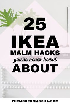 Looking for a way to hack your IKEA Malm? Check out these IKEA MALM hacks including the nightstands, classic dresser, bed, desk and more. Add the MALM overlays and stickers on top for a beautiful finish! Save this for more IKEA hacks, storage ideas, and DIY inspiration for your home furniture and storage solutions. #ikeahacks #ikea #malmhacks #malm #ikeamalm Ikea Dresser Hack, Dresser Bed, Nightstands, Storage Solutions, Storage Ideas, Classic Dressers, Diy Furniture Projects, Ikea Hacks, Overlays