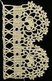Afbeeldingsresultaat voor crochetrand haken