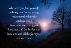 Whenever you find yourself ...