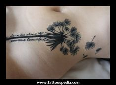 Let It Be Dandelion Tattoo 14 - dandeliontattoos. - Let It Be Dandelion Tattoo 14 – dandeliontattoos…. You are in the right place about Let It Be Da - Dainty Tattoos, Sweet Tattoos, Pretty Tattoos, New Tattoos, Cool Tattoos, Tatoos, Feminine Tattoos, Dandelion Bird Tattoos, Dandelion Tattoo Design