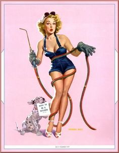 Welding pinup!!! I love this!!!!