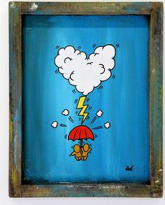 Gouzous in Paris by Jace Street Art, Expo, Painted Doors, Paris, Art Oil, Art Projects, Madagascar, Trust, Painting