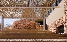 Mapungubwe Interpretation Center - South Africa - Peter Rich Architects, photo © Iwan Baan
