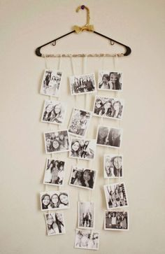INSPIRATION : COOL WAYS TO DISPLAY POLAROID PICTURES